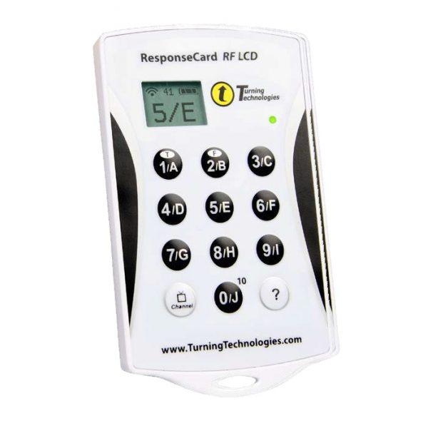 Hlasovacie zariadenia Response Card RF LCD